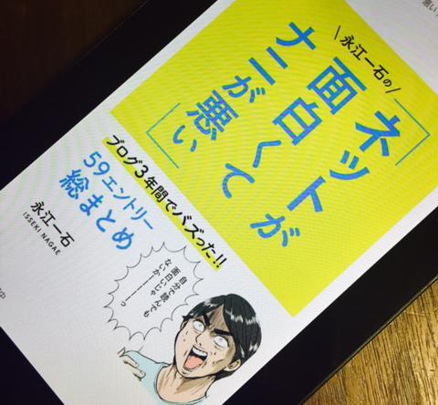 ネットマーケティング担当者必読!「永江一石のネットが面白くてナニが悪い!!」